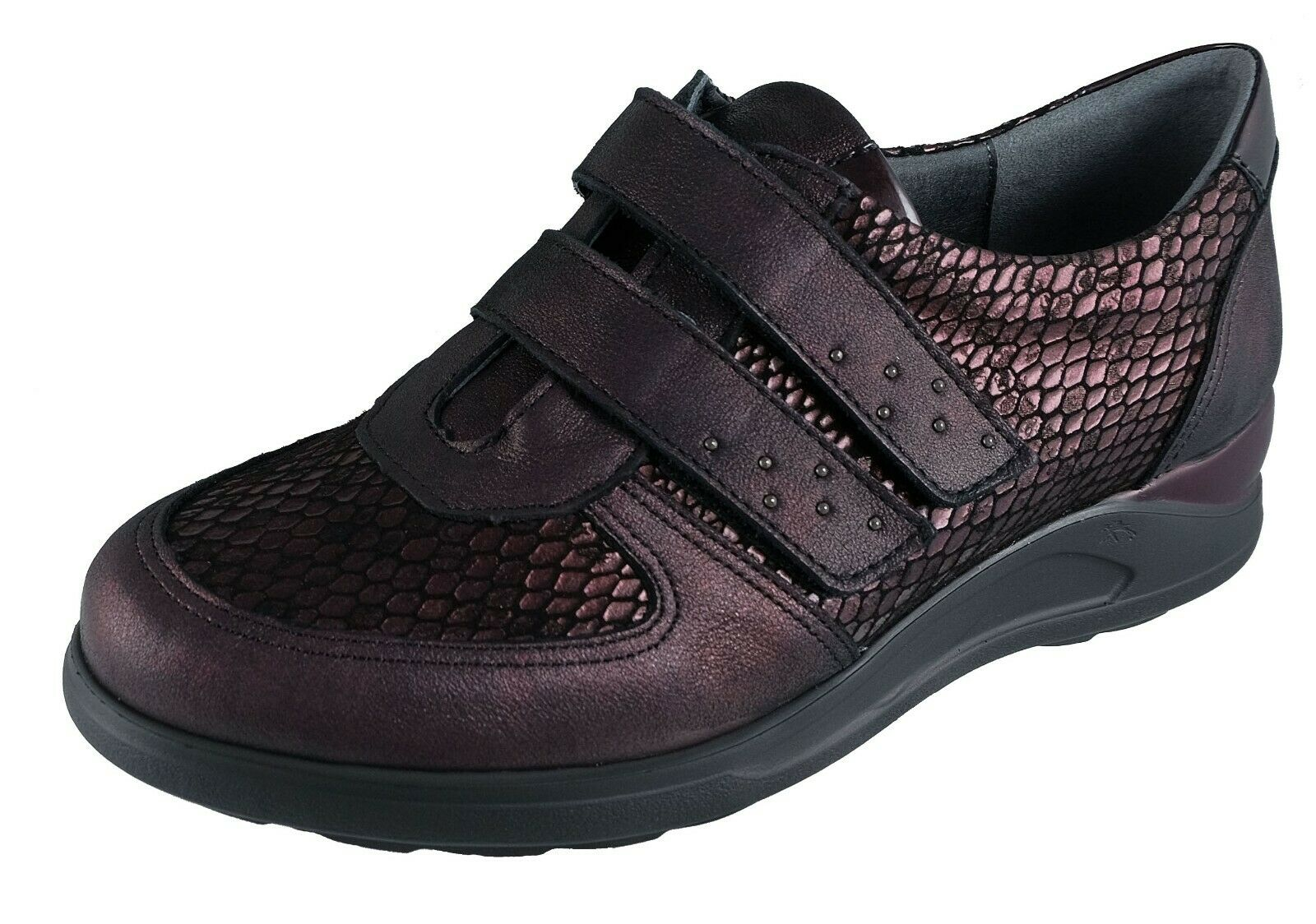 Scarpe Donna / Womens Shoes FlUCHOS Bordeaux Pelle Cloe Ref.F0711