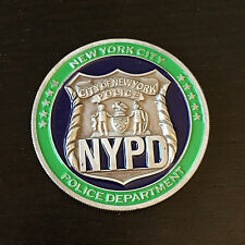 Official NYPD Police Challenge Coin