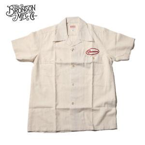 Bronson-Vintage-Motorcycle-Club-Short-Sleeve-Shirts-1940s-Men-039-s-Casual-T-Shirts