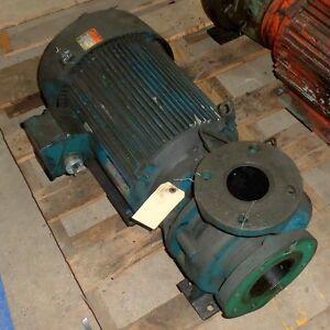 Ingersoll Rand 4x3x6 Pump W Us Motors 254jm 3ph 3540rpm