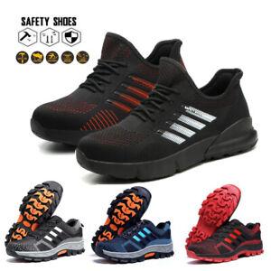 UK Safety Shoes for Men Women Steel Toe