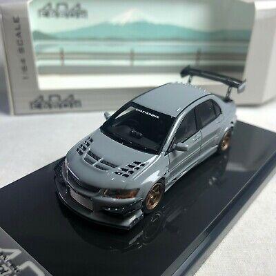 1//64 404 Mitsubishi Lancer Evolution VII VOLTEX Turn Gray Ltd 999 pcs