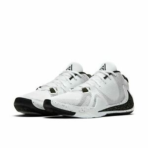 Nike-Zoom-Freak-1-Basketball-Shoes-Oreo-White-Black-BQ5422-101-Men-039-s-NEW