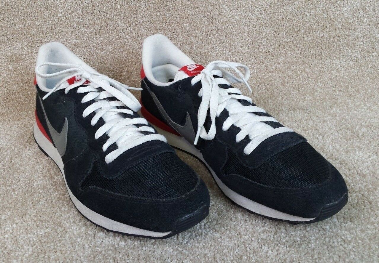 Nike Internationalist Classic Black Running Shoes 631754-001, US Men's 14 Wild casual shoes
