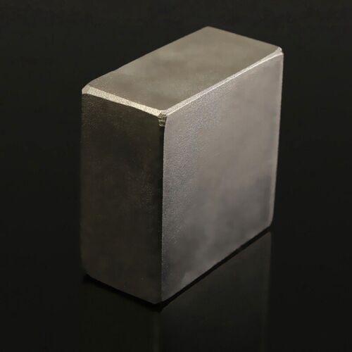 40X40X20Mm Großer Neodym Quadrat Block Seltene Erde Magnet Stärkster N52  K6 3X