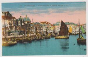 France-Tarjeta-Postal-LE-TREPORT-L-039-Antes-Port-a-maree-haute-LL-N-171