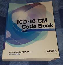 2016 ICD 10-CM Code Book AHIMA