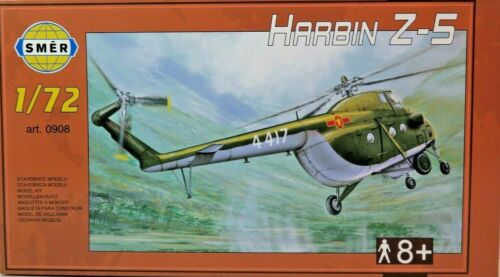 Bausatz 1:72,0908,OVP Chinesischer Militär-Hubschrauber SMER Harbin Z-5