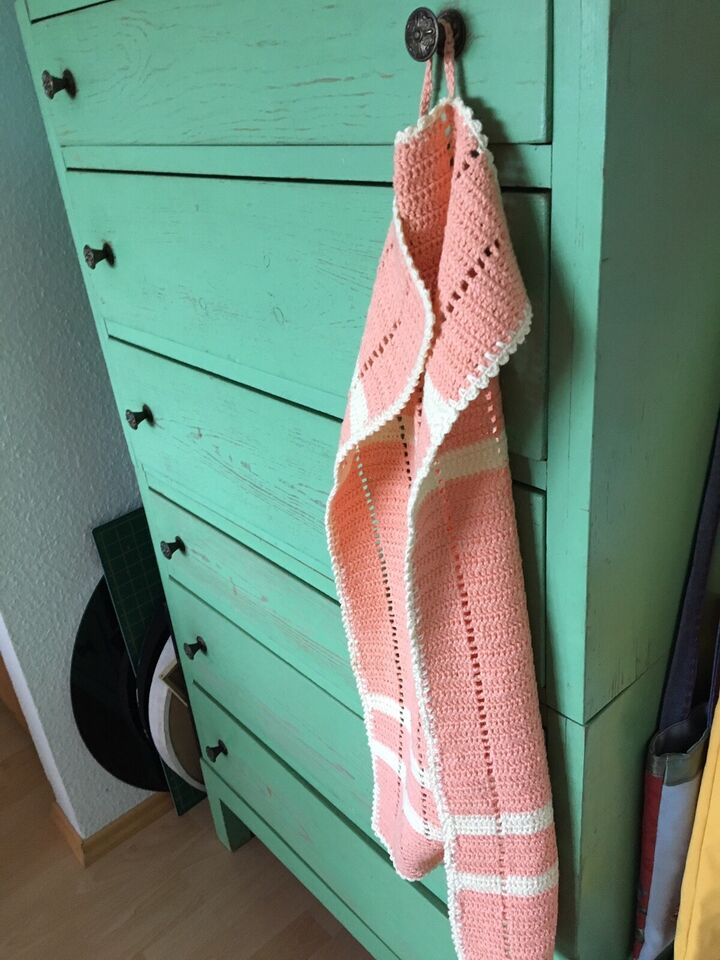 Håndklæde, Håndarbejde