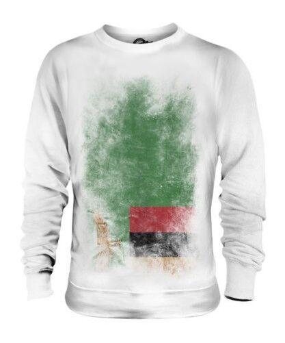 Sambia Verblichen Flag Unisex Pullover Top Sambia Hemd Fußball Trikot Geschenk