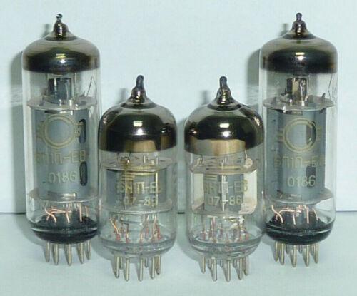 Liston 12 2x 6P1P-EV Nobsound MS 2x 6N1P-EV Upgrade Matched Tube Set NOS.