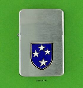 23rd-INFANTRY-DIVISION-ARMY-WIND-PROOF-PREMIUM-LIGHTER-GIFT-BOX-AMERICAL-sbc35