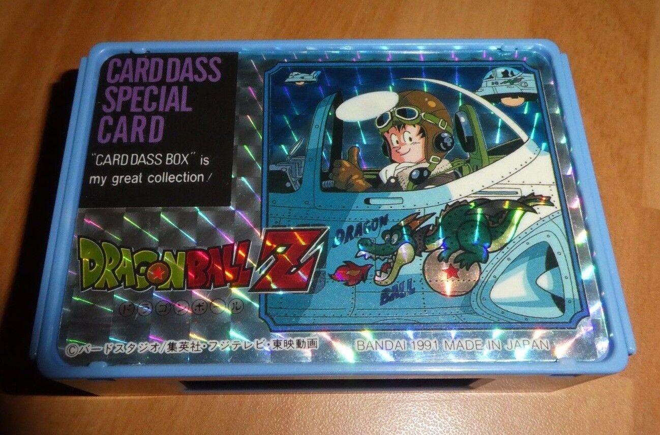 DRAGON DRAGON DRAGON BALL Z DBZ CARDDASS BOX SPECIAL CARD CARTE UR MADE IN JAPAN 1991 7d4945