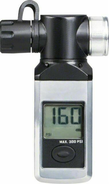 Topeak Shuttle Digital Tire Pressure Gauge 300 PSI