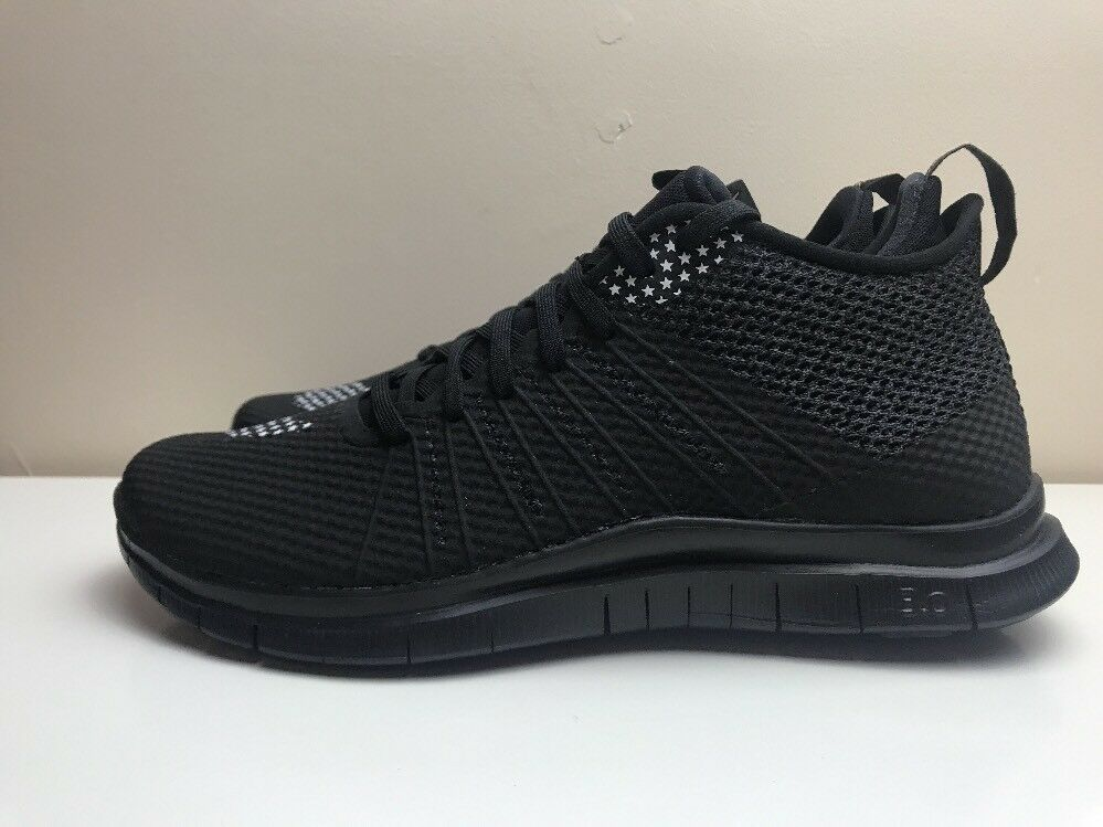 Nike Free Hypervenom 2 FC Trainers Chaussures Noir Blanc UK 6 EUR 40 747140 007