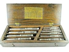 Vintage Genuine Critchley Six Adjustable Hand Reamers And Toolbox