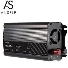 Anself 1500W DC 12V to AC 220V Household Solar Power Inverter Converter USB A9G5