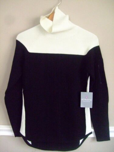 Details about  /ATHLETA 458966 SOFT THERMOCOOL WOOL SUMMIT TURTLENECK  SWEATER TOP $148.00  XXS