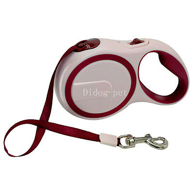 Retractable Strap Pet Dog Extending Leash Automatic Dog Walking Lead Tape Cord