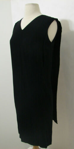 RUDI GERNREICH VINTAGE 1960's Little Black Dress E