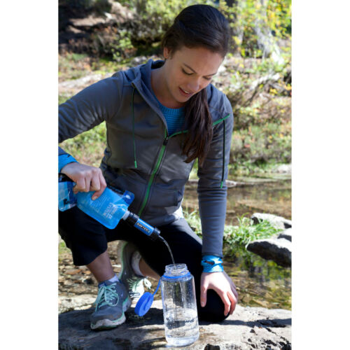 Sawyer MINI WATER FILTRATION SYSTEM Filters Up To 100,000 Gallons TRAVEL CAMPING