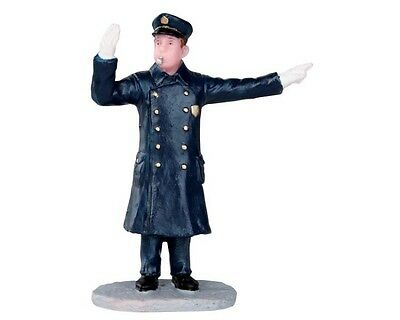New Lemax Figurines Directing Traffic 32122  Polyresin New 2015