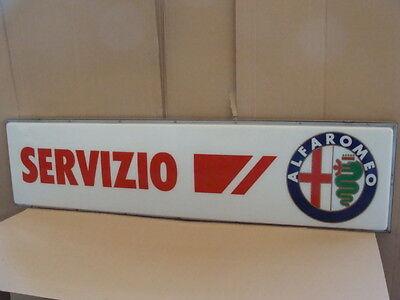 Umile Insegna Luminosa Servizio Alfa Romeo Sign Neon