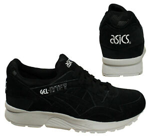 new product 66a44 d2f24 Details about Asics Gel-Lyte V Black Lace Up Mens Low Top Suede Sport  Trainers H732L 9090 B34D