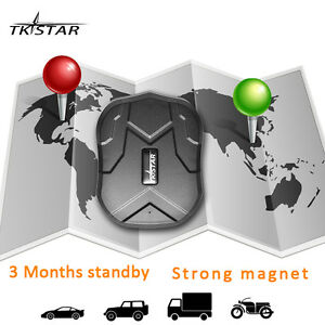 New TKSTAR TK905 GPRS GPS Car Tracking Realtime GSM Waterproof Vehicle Locating