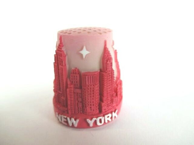 New York Thimble Thimble Poly, Empire State Building, Statue of Liberty,