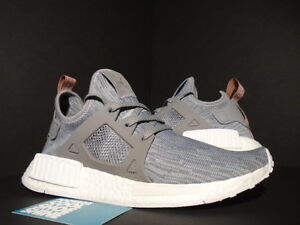 ADIDAS NMD XR1 PK W PRIMEKNIT CLEAR ONIX GREY RAW PINK WHITE GLITCH ... ec1db8b48