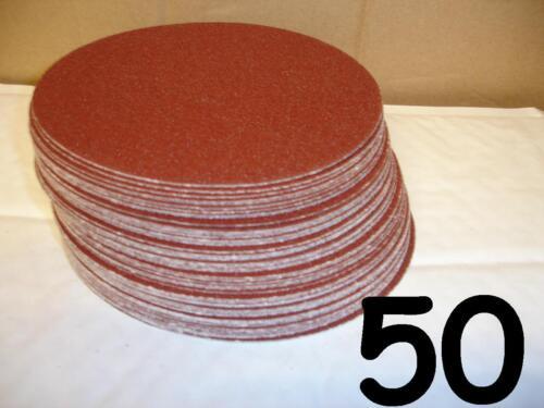 "6/"" Self Adhesive Sanding Discs 80 Grit Sticky Pads DA SANDER PSA 50-150mm"
