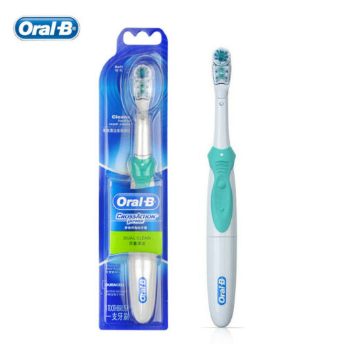 2-x-Oral-B-CrossAction-Power-Electric-Dual-Clean-Toothbrush-B1010-Cross-Action