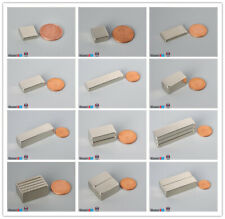 127mm 12 Width Bar Magnet Length Width Magnetized Rare Earth Neodymium Block