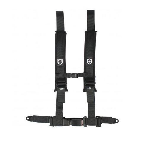 "Pro Armor Seat Belt Harness 4 Point 2/"" Black Automotive Latch Yamaha Rhino YXZ"