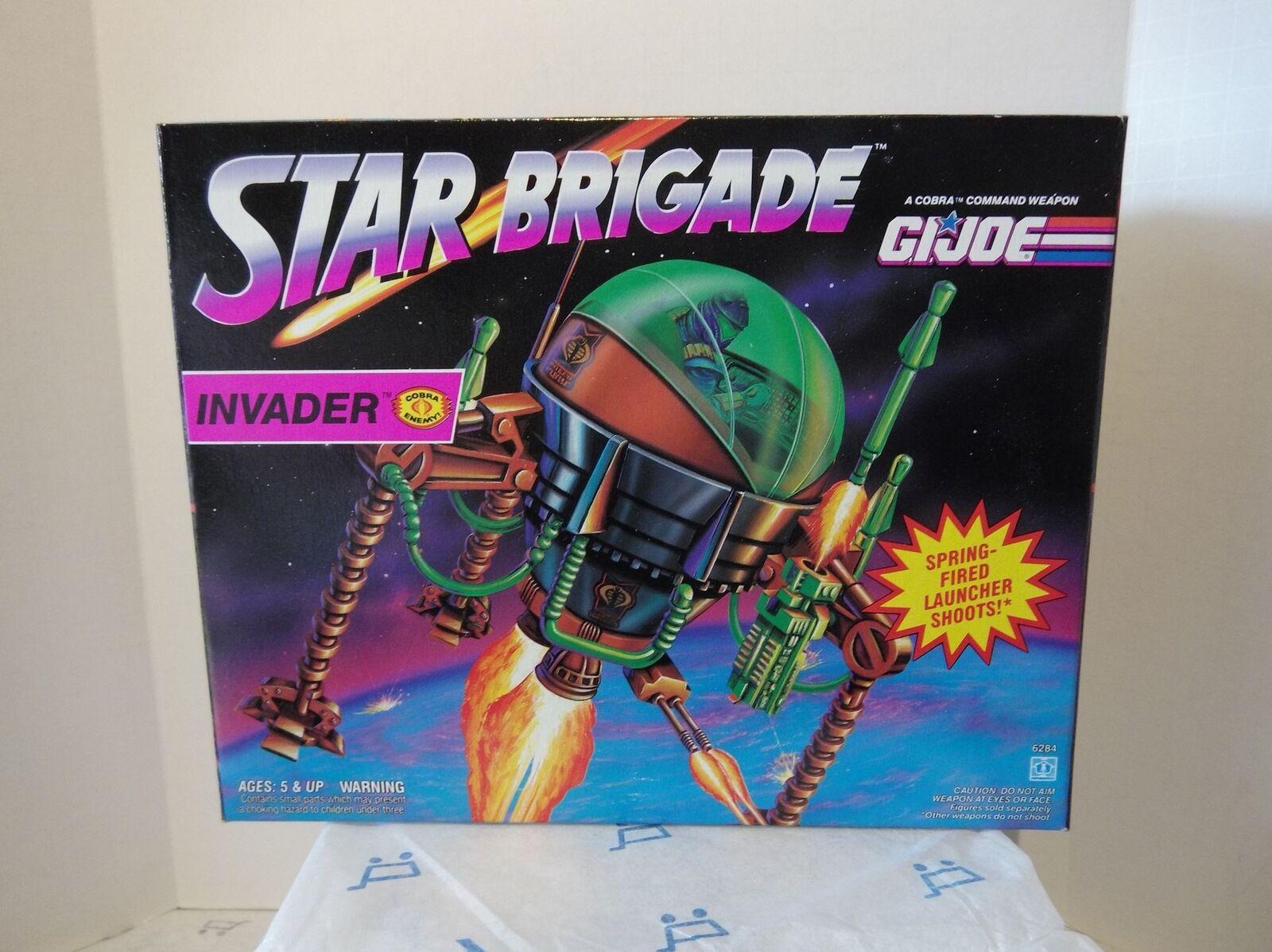 GI JOE - Star Brigade - Invader -  MISB -1993