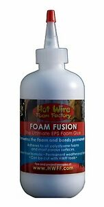 Hot Wire Foam Factory Foam Fusion Nontoxic EPS Foam Safe Glue Styrofoam 8oz