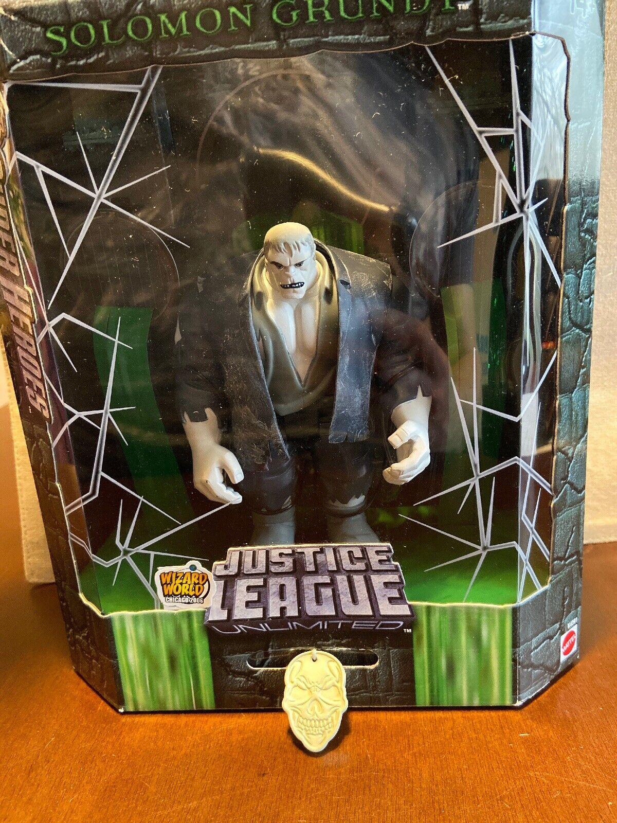 DC Comics Justice League JLU SDCC Solomon Gcorreredy Exclusive Slime Variant Mattel