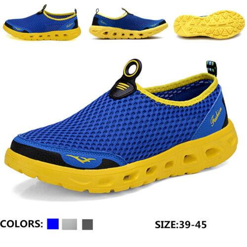 Men/'s Mesh Honeycomb Quick Drying  Beach Water Upstream Shoes Casual Creek Shoes
