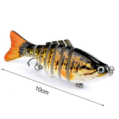 Bionic Swimming Lures Fishing Baits for All Kinds of Fish Free Shipping A++ @RR