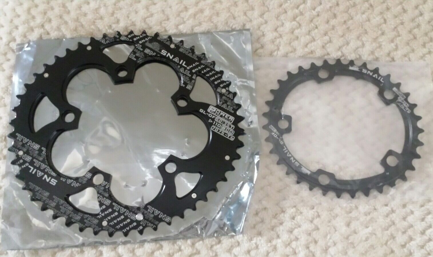 SNAIL VXM Road Bike 50 35 Double Oval Chainrings 110BCD 9 10 11 Chain Ring Super