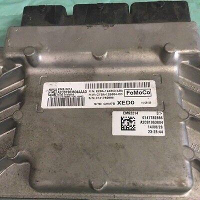 2014-2015 Ford Fiesta ecm ecu computer E2BA-12A650-ABA