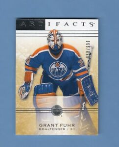 2014-15-Artifacts-Goalie-Subset-118-Oilers-Grant-Fuhr-999