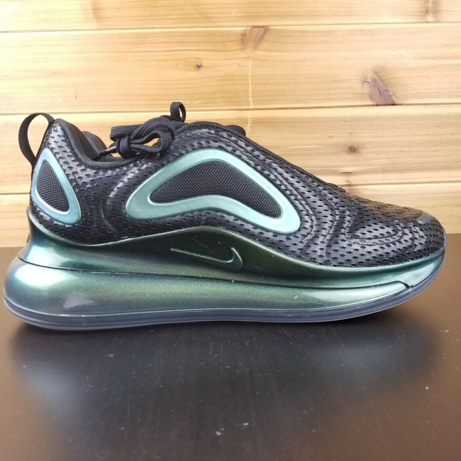 Nike Air Max 720 Throwback Future Black Anthracite AR9293 002 Womens Size 8