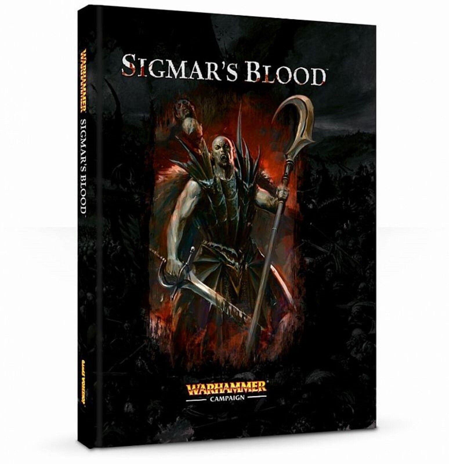 Games Workshop Sigmar's Blood Hardcover Campaign Book