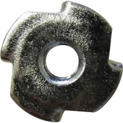Toolcraft 226785 dadi a ragno m4 acciaio 10 pz