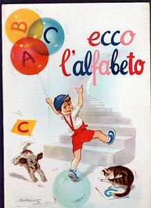 ECCO L' ALFABETO EDITRICE PICCOLI COLLANA PRIMI PASSI TAVOLE DI MICHETTI - Italia - ECCO L' ALFABETO EDITRICE PICCOLI COLLANA PRIMI PASSI TAVOLE DI MICHETTI - Italia