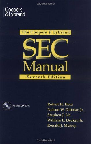 The Coopers & Lybrand SEC Manual
