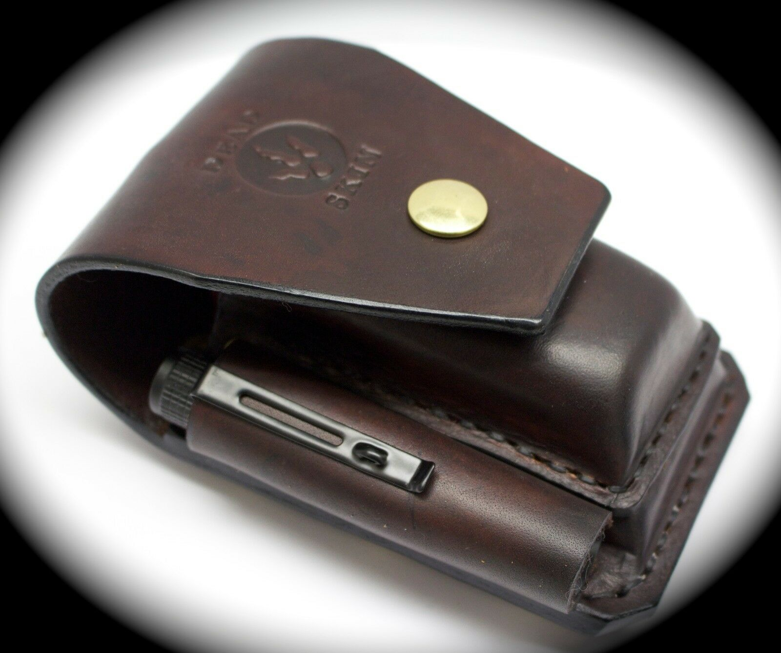 Heavy duty leather  case sheath pouch FOR leatherman multitools bit kits torch  limited edition