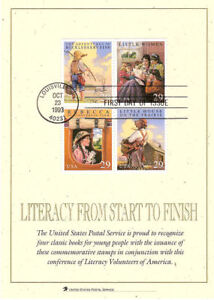 2788a-s-FD-Card-29c-Classic-Books-Stamps-w-FDC